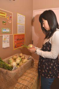 広島中央・中光さんマンションで野菜提供