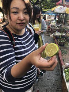 南部・メキシコでレモンを市場調査