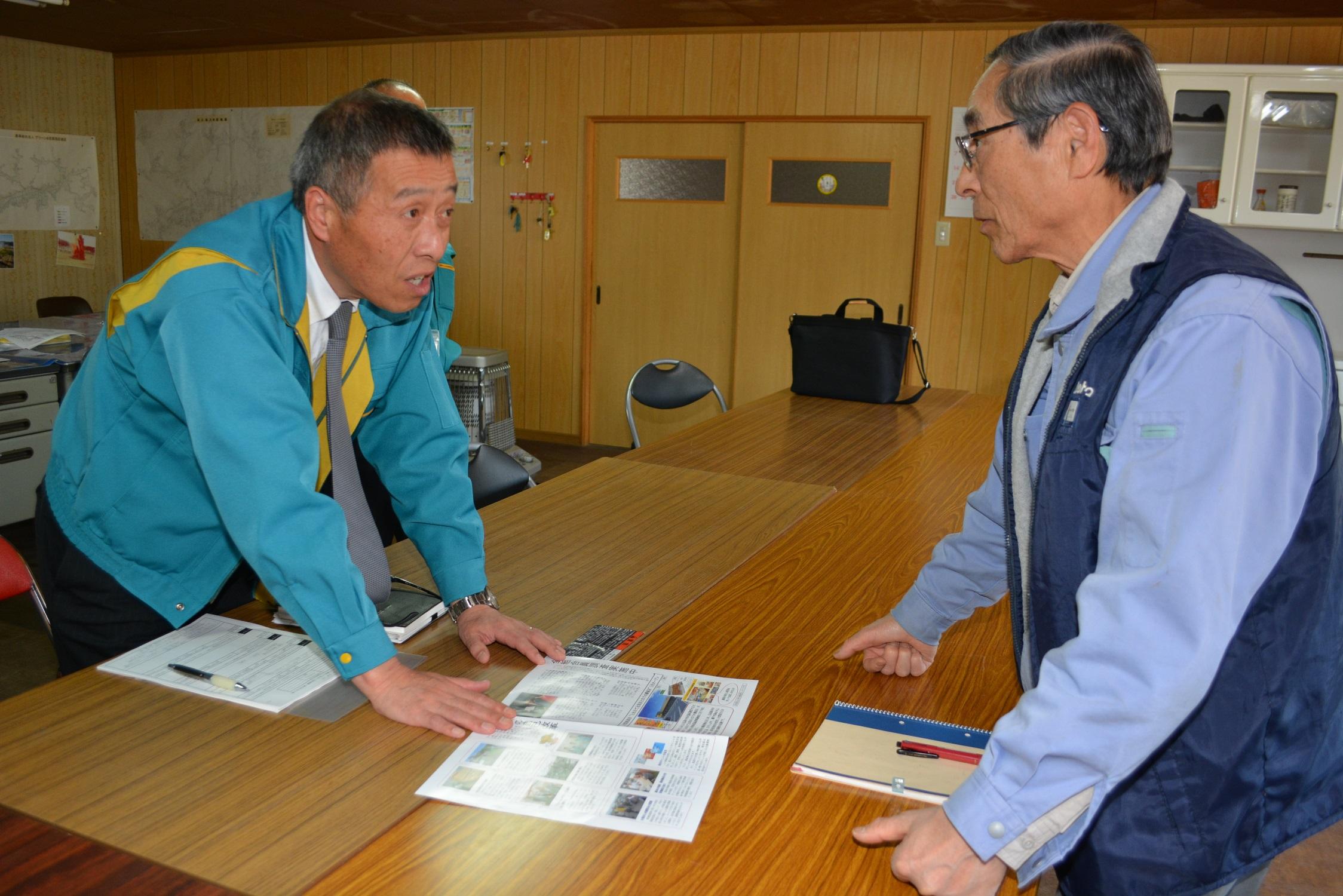 広島中央・法人・担い手を訪問